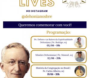 Em comemoração ao mês de aniversário da nossa Congregação! Participe conosco através do instagram: @dehonianosbre
