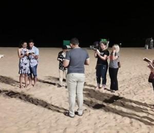 Via-Sacra é realizada por jovens dehonianos na praia de Tambaú/PB