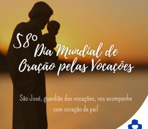 MENSAGEM DO PAPA FRANCISCO PARA O 58º DIA MUNDIAL DE ORAÇÃO PELAS VOCAÇÕES