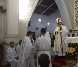 Pe. Carlos Fred, scj é o novo Pároco da Paróquia Nossa Senhora do Rosário em Recife/PE