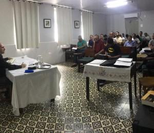 RELIGIOSOS E SEMINARISTAS PARTICIPAM DE FORMAÇÃO SOBRE PADRE DEHON