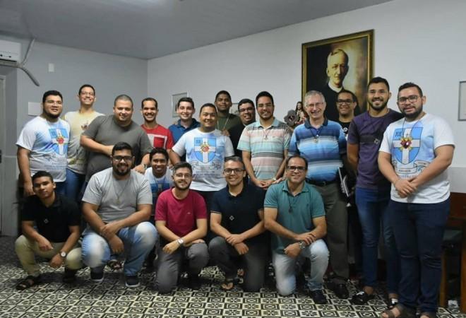 Seminaristas da Província Brasil Recife recebem formação sobre Animação Vocacional Missionária