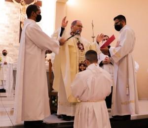 Ordenação diaconal do Fr. Rodrigo Victor, scj