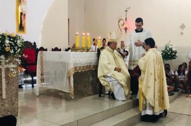 Posse do Pe. José Valdinã, scj como novo Pároco da Paróquia Nossa Senhora da Conceição em Poço Redondo/SE